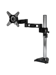 Arctic Z1 Single Monitor Arm with 4-Port USB 2.0 Hub - Black