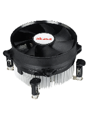 Akasa AK-CC7108EP01, 775, 1150, 1155, 1156 Heatsink and Fan - Black