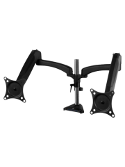 """Arctic Z2-3D Gen 3 Dual Monitor Arm with 4-Port USB 3.2 Hub, Gas Spring, up to 34"""" Monitors"""