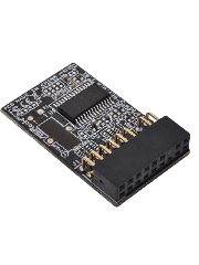 Asrock (TPM-S) TPM Module v2.0  - Works On V2.0 TPM Ready Asrock Motherboards