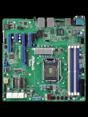 Asrock Rack E3C236D4U Server Board, Intel C236, 1151, Micro ATX, DDR4, Dual GB LAN, IPMI LAN, Serial Port