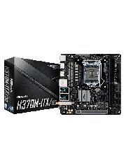 Asrock H370M-ITX/AC, Intel H370, 1151, Mini ITX, DDR4, 2 HDMI, DP, XFire, Wi-Fi,  Dual LAN, M.2