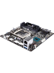 Asus H110 S1 CSM - Corporate Stable Model, Intel H110, 1151, Mini STX, DDR4 SODIMM, M.2, 2 HDMI, DP, USB3 Type-C, DC Jack