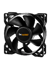 Be Quiet! BL044 Pure Wings 2 8CM Case Fan, Rifle Bearing, Ultra Quiet - Black