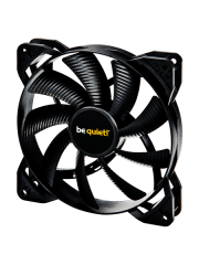 Be Quiet! BL047 Pure Wings 2 14CM Case Fan, Rifle Bearing, Ultra Quiet - Black
