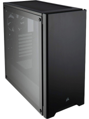 Corsair Carbide Series 275R Gaming Case with Tempered Glass Window, ATX, 2 x 12cm Fans