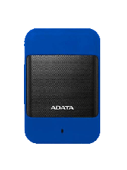 "ADATA 2TB HD700 Rugged External Hard Drive, 2.5"", USB 3.0, IP56 Water/Dust Proof, Shock Proof, Blue"