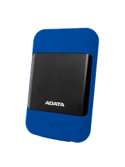 "ADATA 1TB HD700 Rugged External Hard Drive, 2.5"", USB 3.0, IP56 Water/Dust Proof, Shock Proof, Blue"