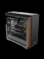 Be Quiet! Silent Base 601 Gaming Case, E-ATX, No PSU, 2 x Pure Wings 2 Fans, PSU Shroud, Orange Trim