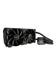 Be Quiet! Silent Loop 240mm Liquid CPU Cooler, Full Copper, 2 x 12cm Pure Wings 2 PWM Fans
