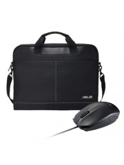 "Asus NEREUS Carry Case & UT280 Mouse Soft Bundle - 16"""" Case with 1000 DPI Optical Mouse"