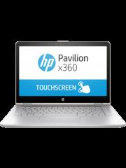 Refurbished HP Pavilion 14 X360/ Core i5 10th Gen/ 8GB RAM/ 256GB SSD+1TB HDD/ Touch Screen/ Silver/ 14-Inch/ MX 130 2GB/ A