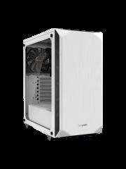 Be Quiet! Pure Base 500 Gaming Case with Window, ATX, No PSU, 2 x Pure Wings 2 Fans, PSU Shroud, Metallic Grey
