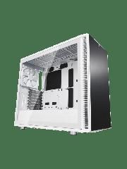 Fractal Design Define S2 Gaming Case w/Clear Glass Window/E-ATX/Sound Dampening/PSU Shroud/Optional Top Filter/3 Fans/USB-C