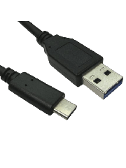 Spire 1-Metre USB 3.0 to USB Type-C Cable - Black