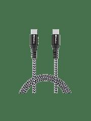 Spire Survivor USB Type-C to Type-C Cable, Braided, 1 Metre, 5 Year Warranty