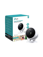 TP-Link (KC200) Kasa Cam Outdoor Wireless Surveillance Camera, Siren, 2-way Audio, Weatherproof, Free Cloud Storage