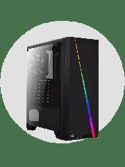 CK - Refurbished Gaming PC/ Intel i5-2nd Gen/ 8GB RAM/ 1TB HDD+240GB SSD/ GTX 1050 Ti