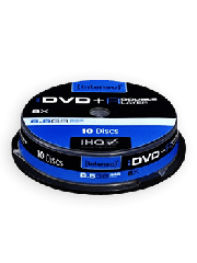 Intenso DVD+R, 8.5GB, 8X  Speed, Dual Layer, Slim, Case of 5
