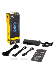 Corsair Commander PRO Digital Fan & RGB Lighting Controller, Supports upto 6 Fans, 4-Temp. Sensors, 8 RGB Strips