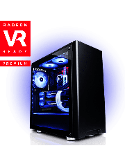 CK - AMD Ryzen 5 1600/8GB RAM/2TB HDD/1TB SSD/Radeon RX 580 8GB/Gaming Pc
