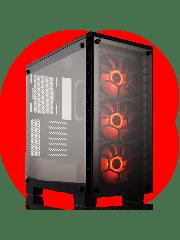 CK - AMD Ryzen 3,GeForce GTX 1070 TiQuad Core Gaming PC