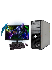 Refurb - CK Dell OptiPlex 760 Mini Tower Gaming PC