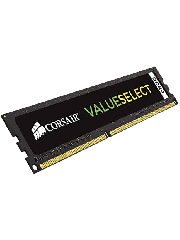 Corsair Value Select, DDR4, 4GB, 2400MHz (PC4-2400), CL16, DIMM Memory