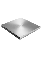 Asus (ZenDrive U7M) External Slimline DVD Re-Writer, USB, 8x, M-Disc Support, Cyberlink Power2Go 8 - Silver