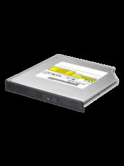 LiteOn Slimline DVD Re-Writer, SATA, 8x,12.7mm High, No Software, OEM - Black