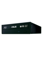 Asus (BW-16D1HT) Blu-Ray Writer, 16x, SATA, BDXL & M-Disc Support, Cyberlink Power2Go 8 - Black