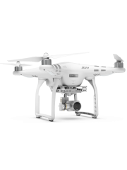 Refurbished DJI Phantom 3 Advanced Drone with HD Action Camera, A