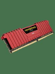 Corsair Vengeance LPX 4GB DDR4 2400MHz (PC4-19200) CL16 XMP 2.0 Memory - Red