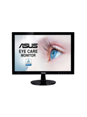 "Asus 23.5"" Eye Care LED Monitor (VP247HAE), 1920 x 1080, 5ms, 100M:1, VGA, HDMI, VESA"
