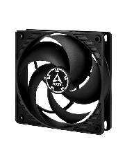 Arctic P12 Silent Pressure Optimised 12CM Case Fan, Fluid Dynamic - Black
