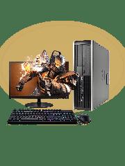 Refurb -  CK Quad Core/4GB RAM/500GB HDD/GeForce GT 710/Full Set Gaming PC, B