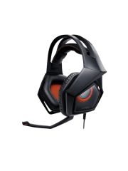 Asus STRIX PRO Gaming Headset, 60mm Drivers, Noise Cancellation, Foldable Cups, Control Box
