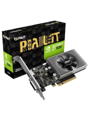 Palit GeForce GT1030, 2GB DDR4, PCIe3, DVI, HDMI, 1379MHz, Low Profile (No Bracket)