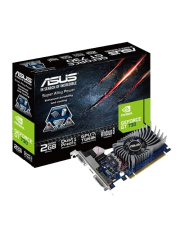 Asus GT730, 2GB DDR5, PCIe2, VGA, DVI, HDMI, Dust-proof Fan, Low Profile (Bracket Included)