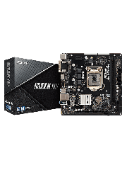 Asrock H310CM-HDV, Intel H310, 1151, Micro ATX, DDR4, VGA, DVI, HDMI