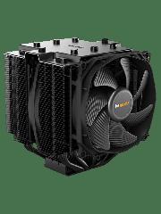 Be Quiet! BK022 Dark Rock Pro4 Heatsink & Fan, Intel & AMD Sockets, Dual Silent Wings Fans, Fluid Dynamic - Black