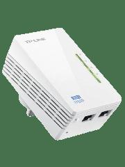 TP-LINK (TL-WPA4220KIT V2) 300Mbps AV600 Wireless N Powerline Adapter Kit