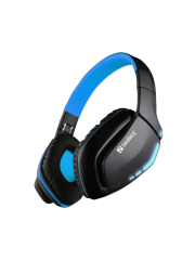 Sandberg Bluetooth, 40mm Driver Foldable Headset with Microphone - Blue and Black