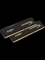 HyperX Fury Black 16GB, DDR4, 2400MHz (PC4-19200), CL15, 1.2V, XMP 2.0, DIMM Memory