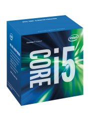 Intel Core I5-7600 CPU, 1151, 3.5 GHz, Quad Core, 65W, 14nm, 6MB Cache, HD GFX, 8 GT/s, Kaby Lake