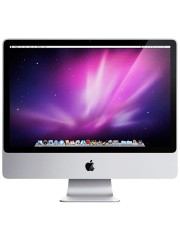 "Refurbished Apple iMac 9,1/E8335/4GB Ram/500GB HDD/DVD-RW/GT120/24""/B"