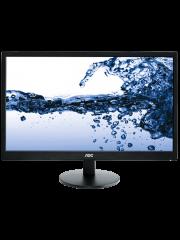 Brand New AOC e2470Swh 23.6-inch Widescreen TN LED Multimedia Monitor-Black (1920x1080/1ms/VGA/DVI/HDMI)