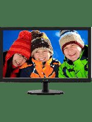 Brand New Philips 243V5LHSB 23.6-inch Widescreen TN W-LED Monitor-Black (1920x1080/1ms/VGA/DVI/HDMI)