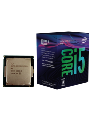 Intel Core i5-8500 CPU, 1151, 3.0 GHz (4.10 Turbo), 6-Core, 65W, 14nm, 9MB Cache, UHD GFX, Coffee Lake
