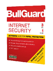 Bullguard Internet Security 2019 Soft Box, 3 User - 25 Pack, Windows Only, 1 Year